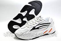 Мужские белые кроссовки в стиле Adidas Yeezy Boost 700 V2, White, фото 3