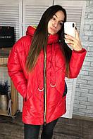 Куртка женская N1973 красная