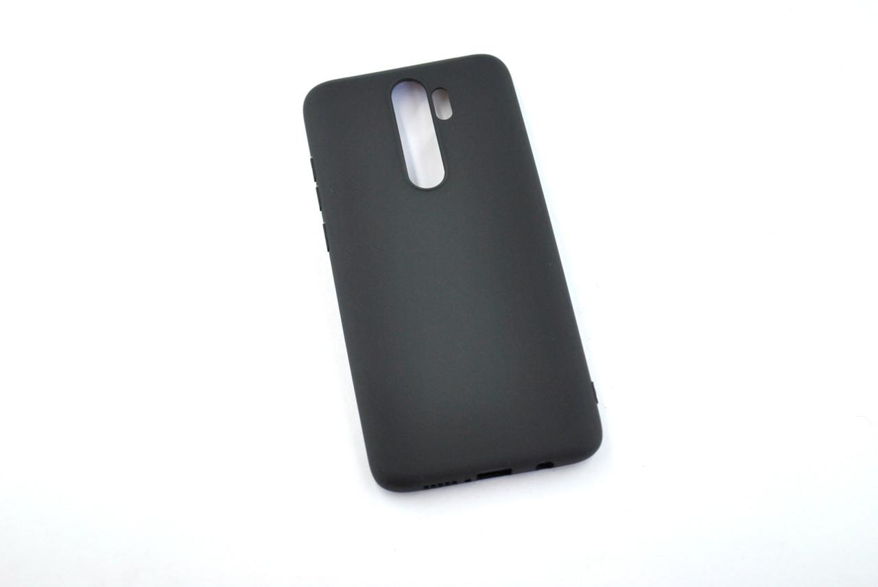 Чехол для Xiaomi Redmi Note 8 Silicone TPU Soft Case Black