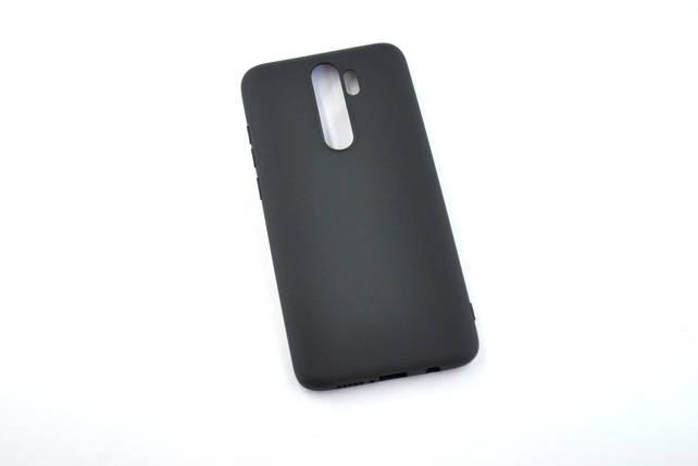 Чехол для Xiaomi Redmi Note 8 Silicone TPU Soft Case Black, фото 2