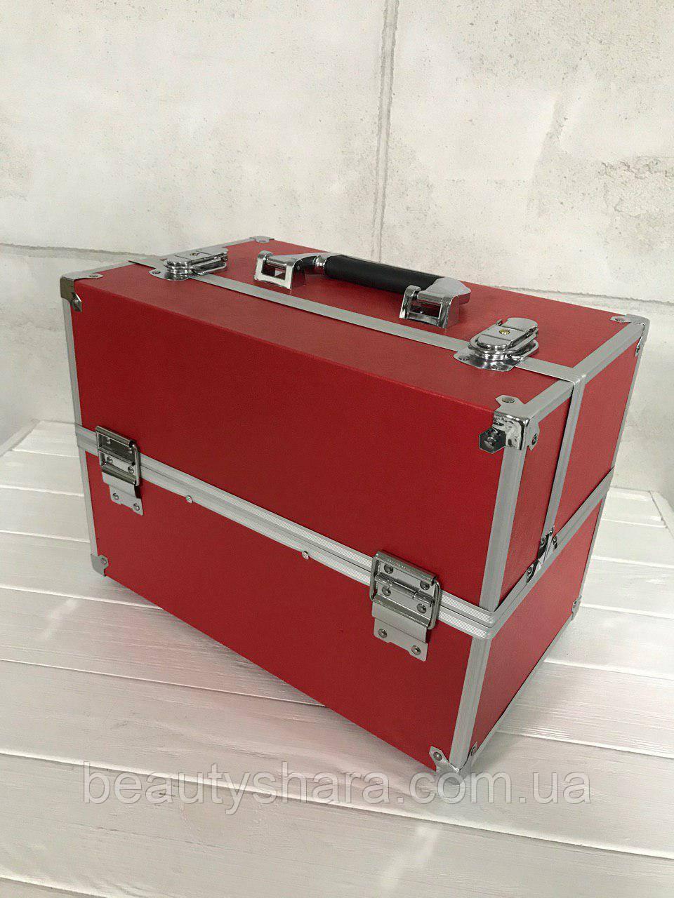 Кейс для косметики (красный)