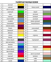 цветовая гамма носков