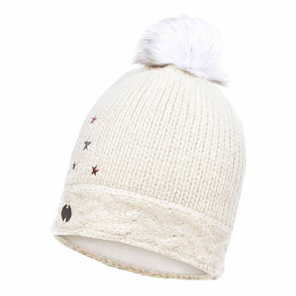 Детская шапка Buff Junior Knitted & Polar Hat Darsy Starwhite