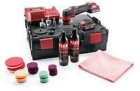 FLEX PXE 80 10.8-EC/2.5 Set Аккумуляторная полировальная машина 10,8 В, ротационная и эксцентриковая, фото 1