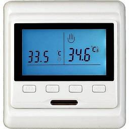 Терморегулятор (програматор) E53 для підігріву підлоги.