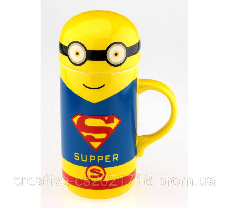 Кружка Мультик Супермен ( Superman)