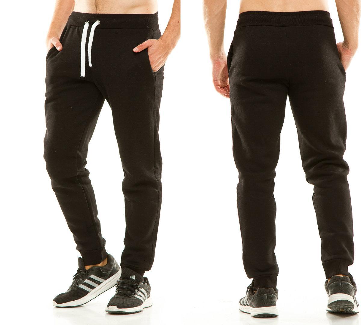 Мужские теплые спортивные штаны  ТУ738