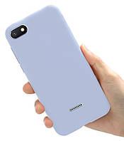 Чехол Style для Xiaomi Redmi 6A Бампер силиконовый Сиреневый