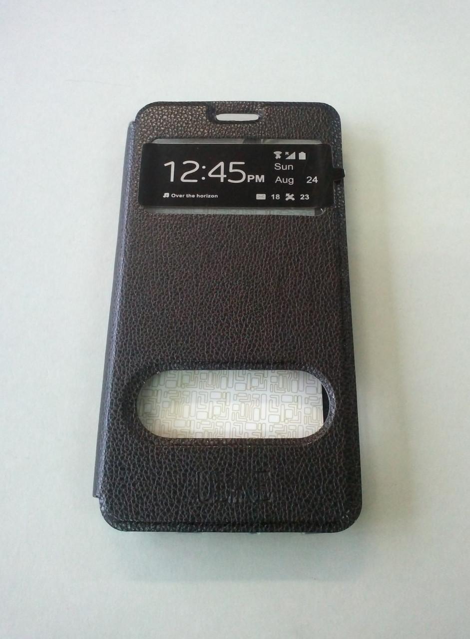 Чехол-книжка Flip Cover Xiaomi Redmi 4 black