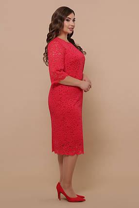 Женское гипюровое платье Большие размеры XL, XXL, XXXL, фото 2