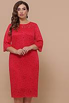 Женское гипюровое платье Большие размеры XL, XXL, XXXL, фото 3