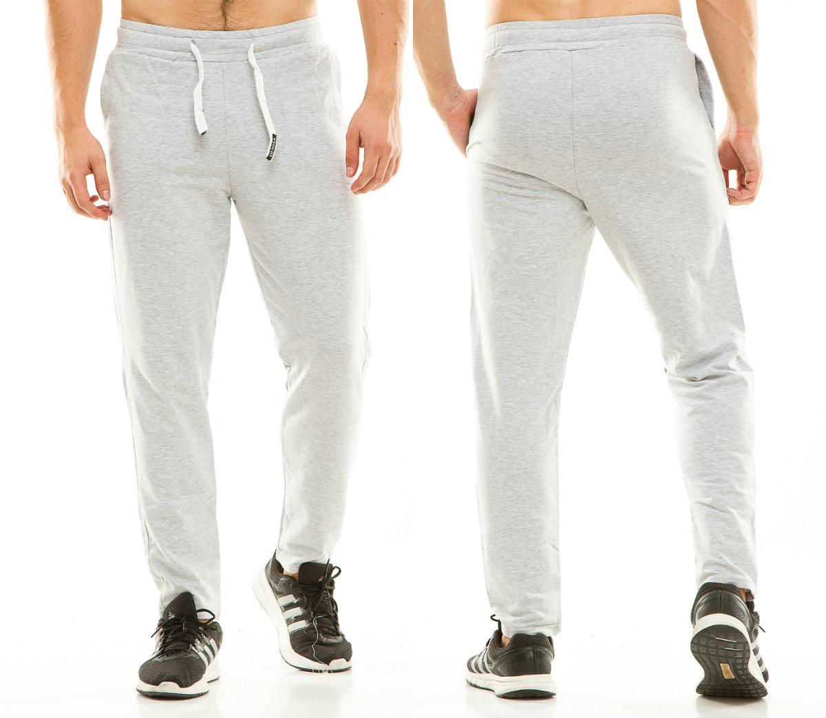 Мужские теплые спортивные штаны  ТУ437