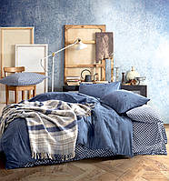 Двуспальный комплект постельного белья DENIM от Cotton Box