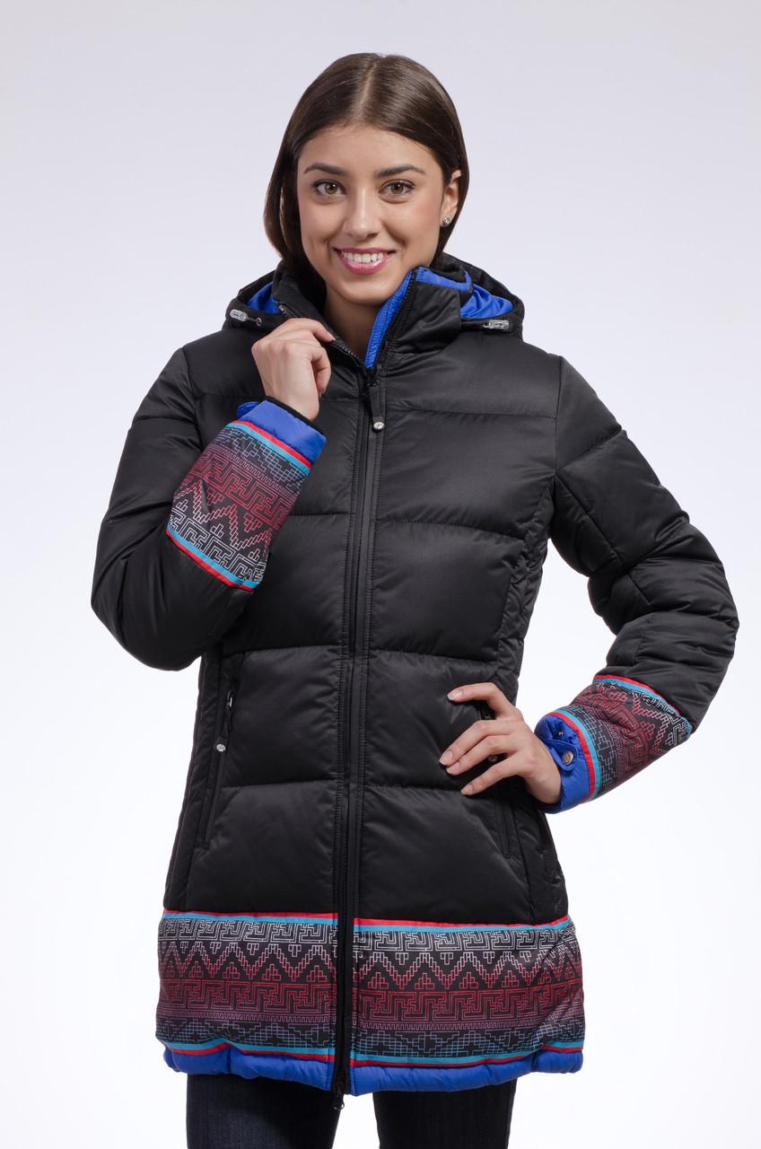 Зимняя куртка женская Avecs 7739683 черный