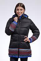 Зимняя куртка женская распродажа Avecs черный 42 (XS)