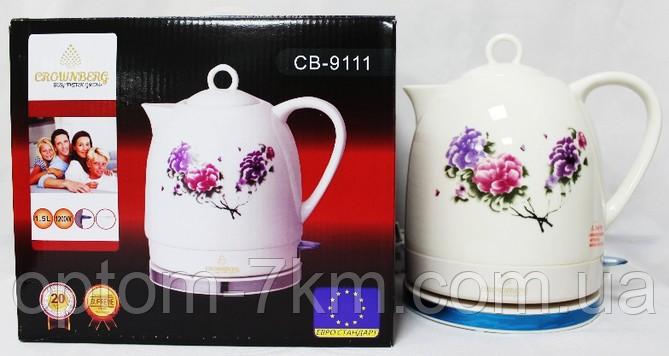 Керамічний чайник Crownberg CB 9111 am