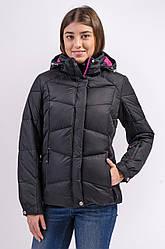 Зимняя куртка женская распродажа Avecs черный M