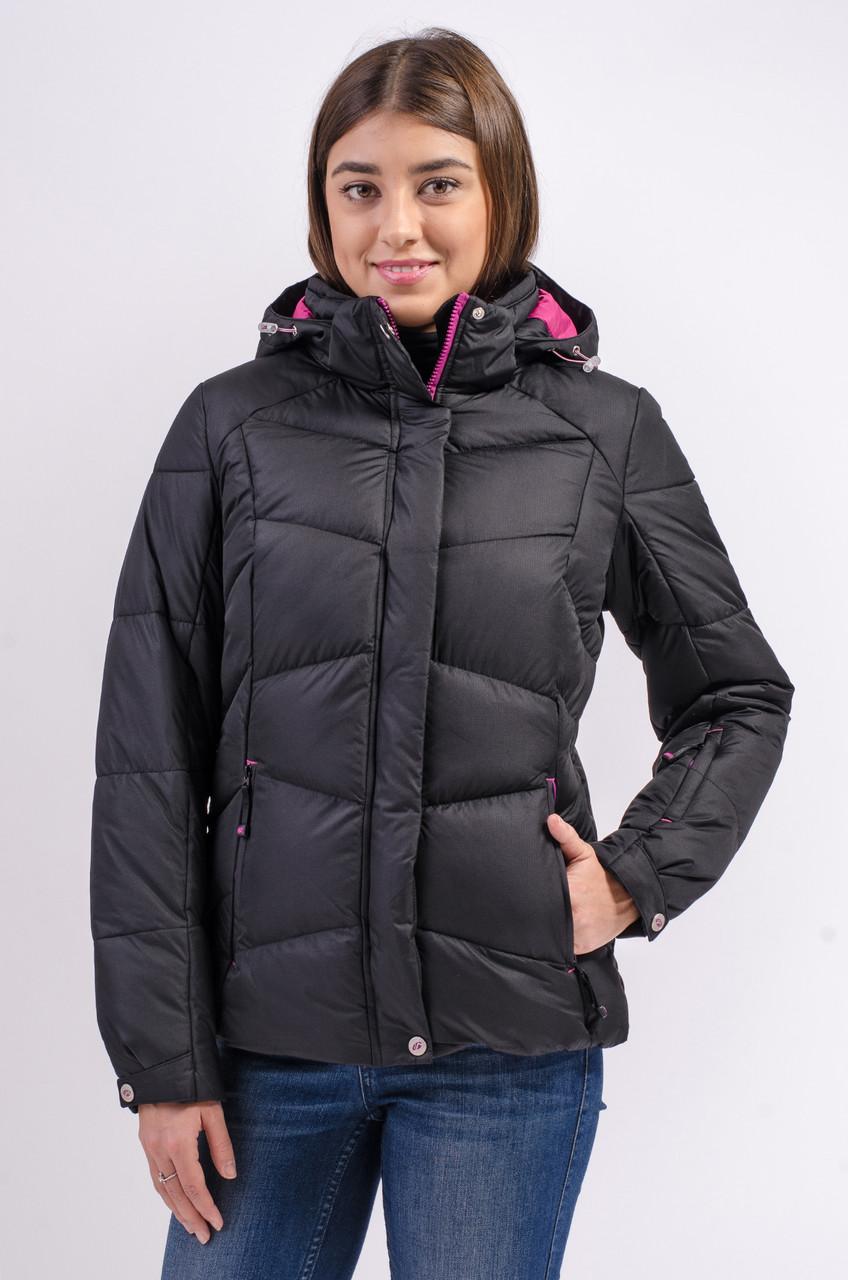 Зимняя куртка женская Avecs 7749805 черный M