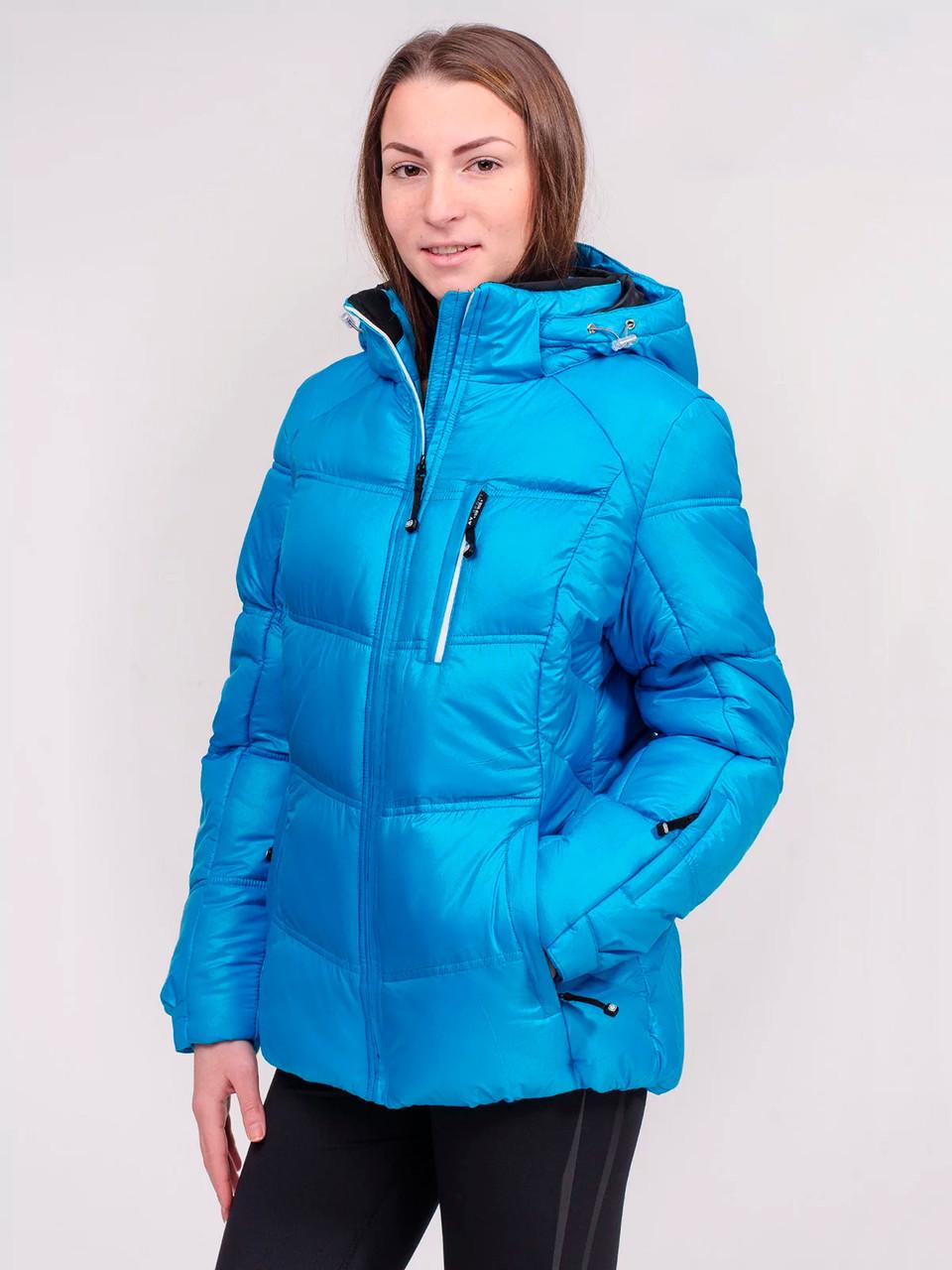 Зимняя куртка женская Avecs 7749500 голубой