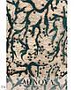 Сукня вечірня міді рукав 3/4 трикотаж+мереживо 50-52,54-56,58-60,62-64, фото 4