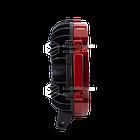 Фара LED круглая 63W (21 лампа) red, фото 4