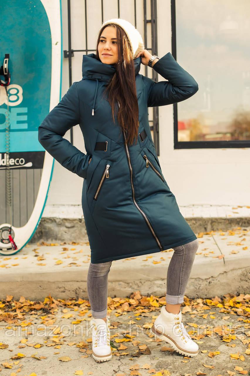 Женское стильное пальто на зиму сезон 2020 - (модель кт-03)