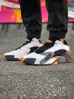 Кроссовки Adidas Streetball мужские белые, в стиле Адидаc, кожа замша 100% прошиты, код KD-12012