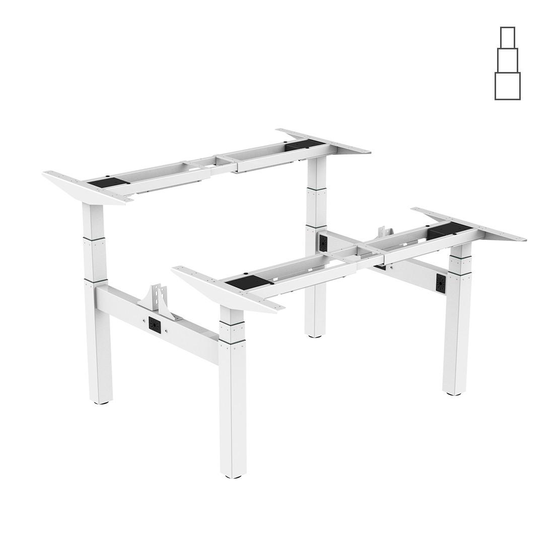 Подвійний стіл з електричним регулюванням висоти Loctek ET203H