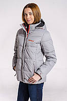 Зимняя куртка женская распродажа Avecs серый 42 (XS)