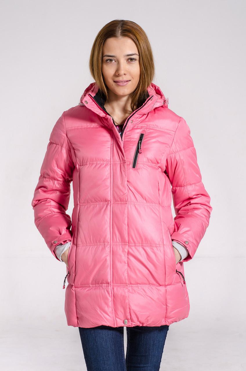 Зимняя куртка женская подростковая Avecs 7034123 розовый