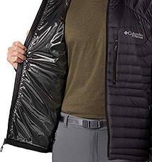 Куртка мужская Columbia Mt. Defiance Down jaket titanum, фото 2