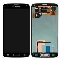 Дисплей Samsung Galaxy S5 G900 з сенсорним екраном Black (Original)