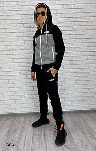 Костюм спортивный подростковый с начесом 160-165, 165-170