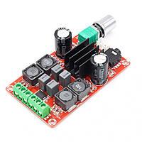 Підсилювач звуку 2х50W клас D, модуль TPA3116 з регулятором гучності