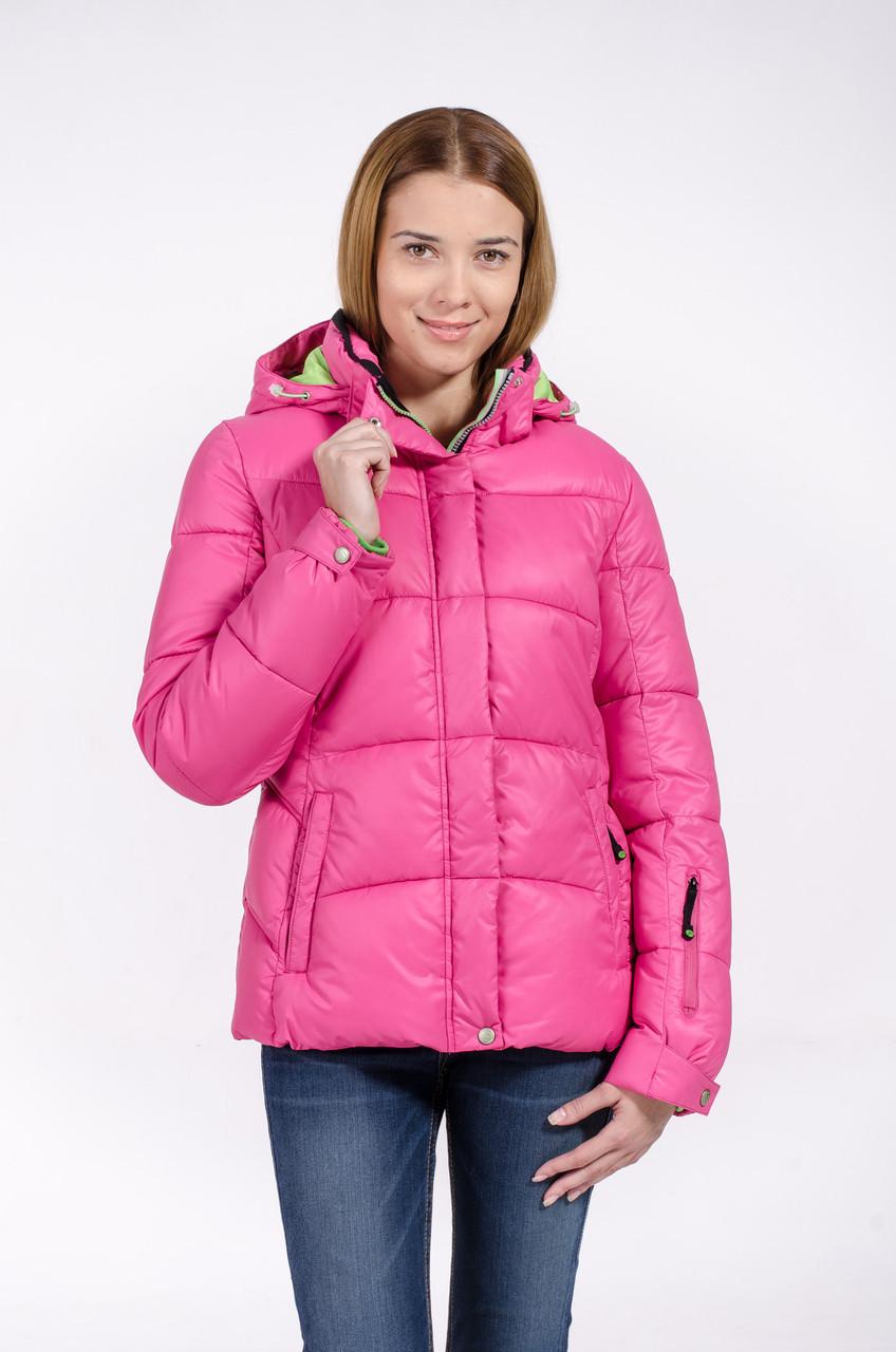 Зимняя куртка женская Avecs 7739711 розовый