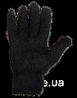 Рукавиці х/б чорні подвійні