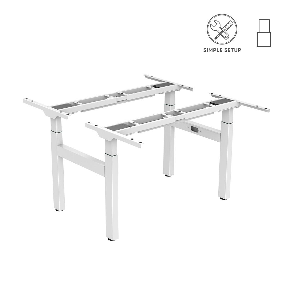 Подвійний стіл з електричним регулюванням висоти Loctek ET122H