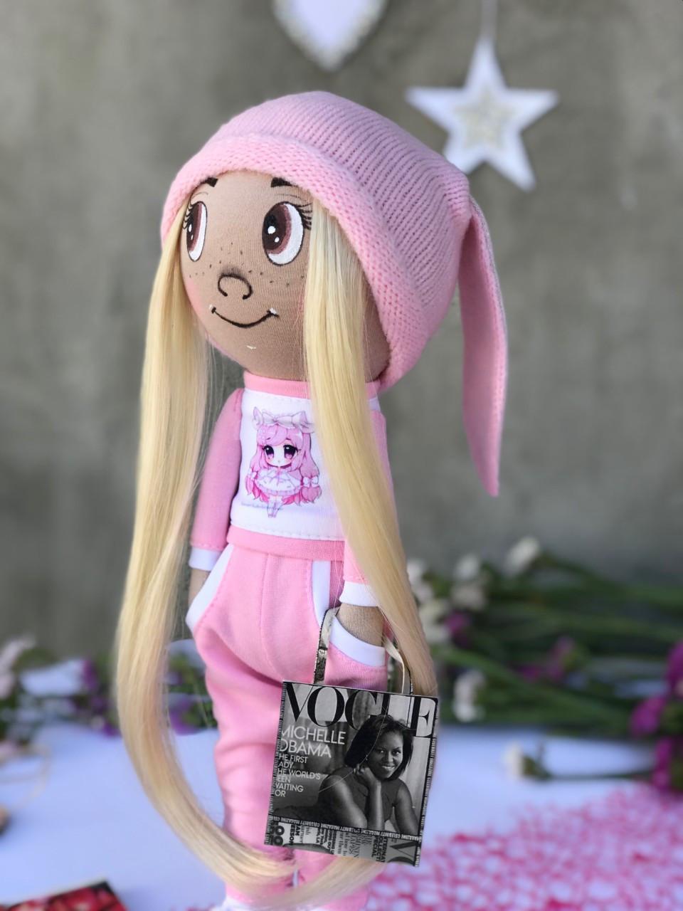"""Кукла """"малявка"""" ручной роботы для девочек, хлопок"""