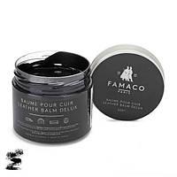 ✅ Черный бальзам для изделий из гладкой кожи Famaco Baume Pour Cuir, 300 мл