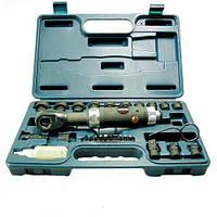Пневмотрещотка угловая (34 Нм) с ударнными головками (8-21 мм)