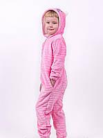 Кигуруми Котик, детский и подростковый, розовый