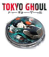 Карманное зеркало Кэн и книга Токийский гуль / Tokyo Ghoul