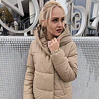 Жіноча зимова куртка куртка синтепон 300, фото 1