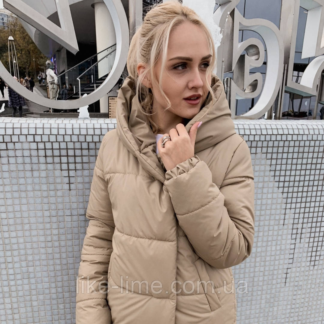 Жіноча зимова куртка куртка синтепон 300