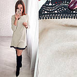 Модное женское платье свободного кроя,размеры:42-44,46-48,50-52., фото 5