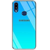Чехол с градиентом и лого Gradient Rainbow для Samsung Galaxy A10s