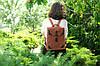 """Рюкзак кожаный """"Кантри"""" кожа винтаж цвет Черный, фото 4"""