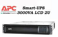 Источник бесперебойного питания (ИБП) APC Smart-UPS 3000VA LCD 2U SMT3000RMI2U