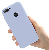 Чехол Style для Huawei P Smart 2018 / FIG-LX1 Бампер силиконовый Сиреневый