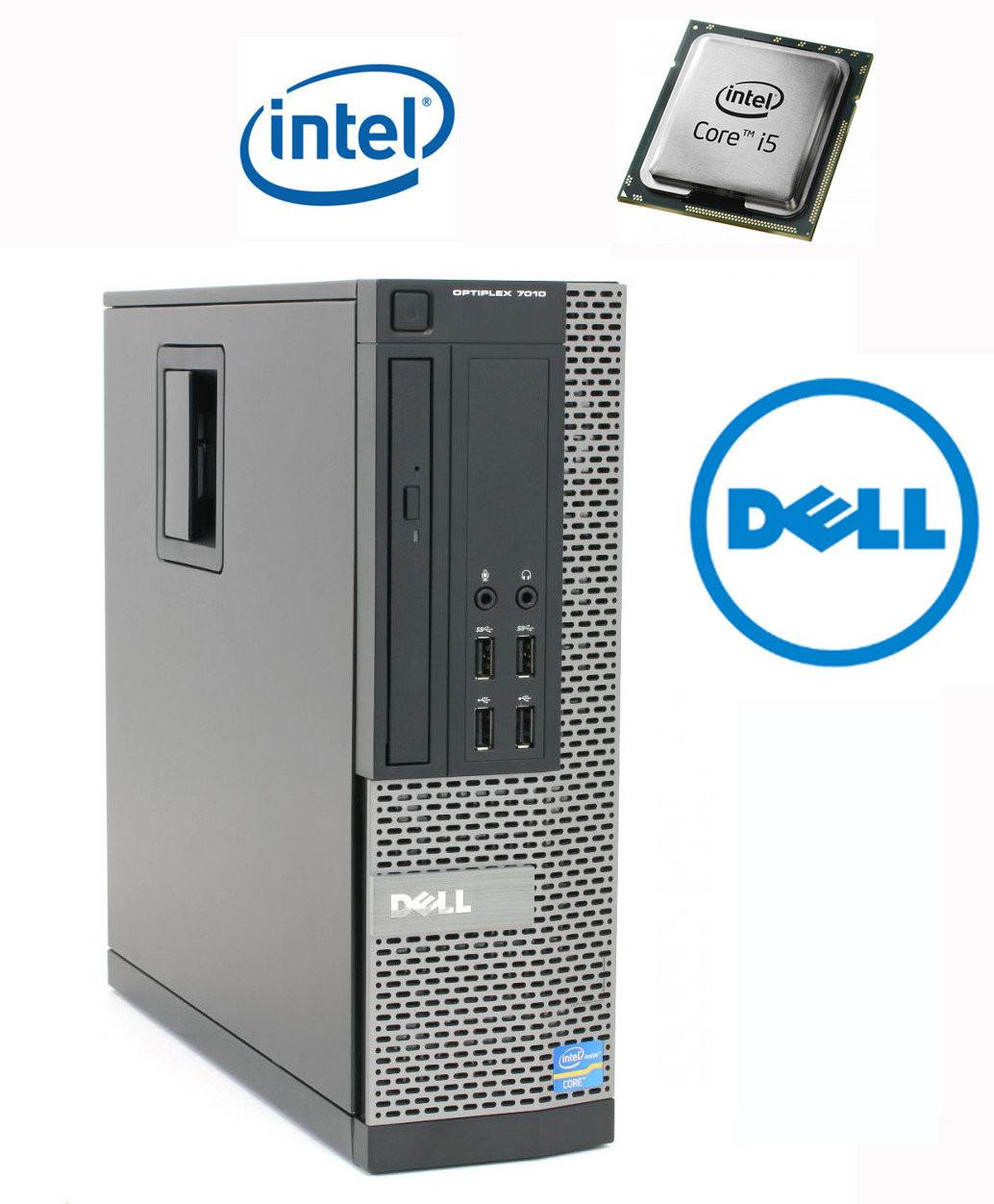 Системный блок DELL Optiplex 7010 4Gb оперативной памяти без HDD c CD-Rom